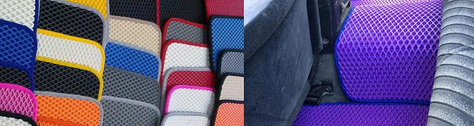 цветные коврики ева